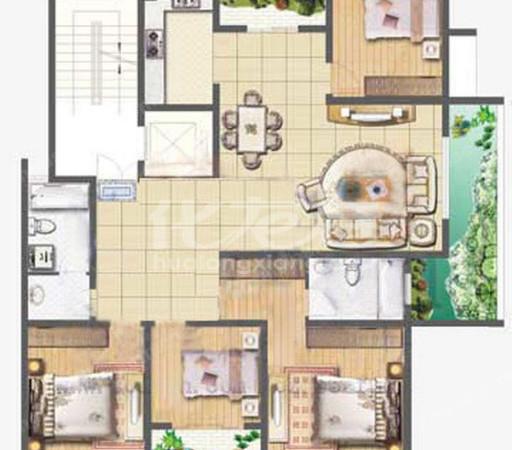 花园街地铁口 新城南都 精装三室 三面采光 中间好楼层 武进实小 满五唯一