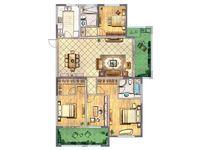 天宁吾悦旁金新御园双阳台大平层5室有钥匙南北通透无遮挡大开间