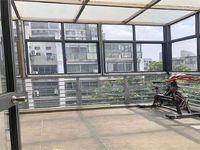新出实验小学 新城南都顶楼复式精装修 赠送南北超大露台有钥匙