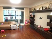 朗诗竸园大平层,精装4房南,3卫5房,房东去外发展适合大家庭居住