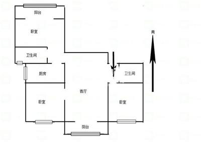 京城豪苑 局小鹤实验中名额空置 市中心交通方便生活便利 毛坯 随时看