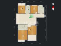 保利公园九里钟楼区政府旁 4室2厅1厨2卫1阳台 高档小区 配套齐全