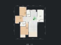 保利公园九里 钟楼区政府旁 价格包含一个产权车位 3室2厅1厨2卫1阳台