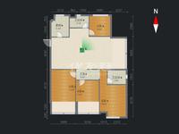 保利公园九里 顶层4室2厅1厨2卫1阳台 采光极佳