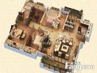 花园街莱蒙城中央府大平层4房毛坯 户型方正3开间朝南 双阳台 满二 有钥匙随时看