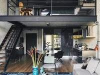 湖塘吾悦挑高4.5米带天然气朝南公寓开售,民用水电带立阳台