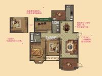 大名城中层141平3室2厅2卫3房朝南毛坯售价240万