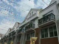 常州市区联排别墅,中天别墅,买一送一层,120至160平,直签合同多套