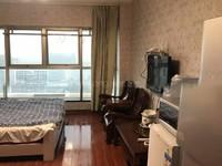 新北富都公寓精装修一室周边紧靠万达环球港配套设施齐全。
