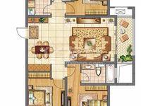 绿地世纪城中层125平3室2厅2卫毛坯售价158万