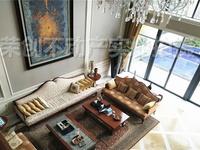临湖独栋,客厅面宽9米,全景落地窗,环绕式花园300平急售