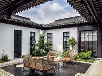 苏式园林风格西太湖旁雅致别墅享受生活1比1大花园