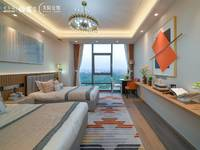 红星爱琴海购物公园A4天际公馆78平一房做两房均价6500