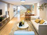 市中心广化桥总价55万朝南挑高公寓一层 可贷款