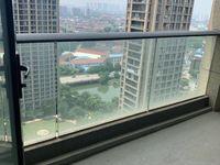 吾悦广场旁玉兰广场,20几楼好楼层三开间朝南两个阳台