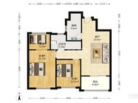 出租龙洲伊都2室1厅1卫89平米4500元/月住宅