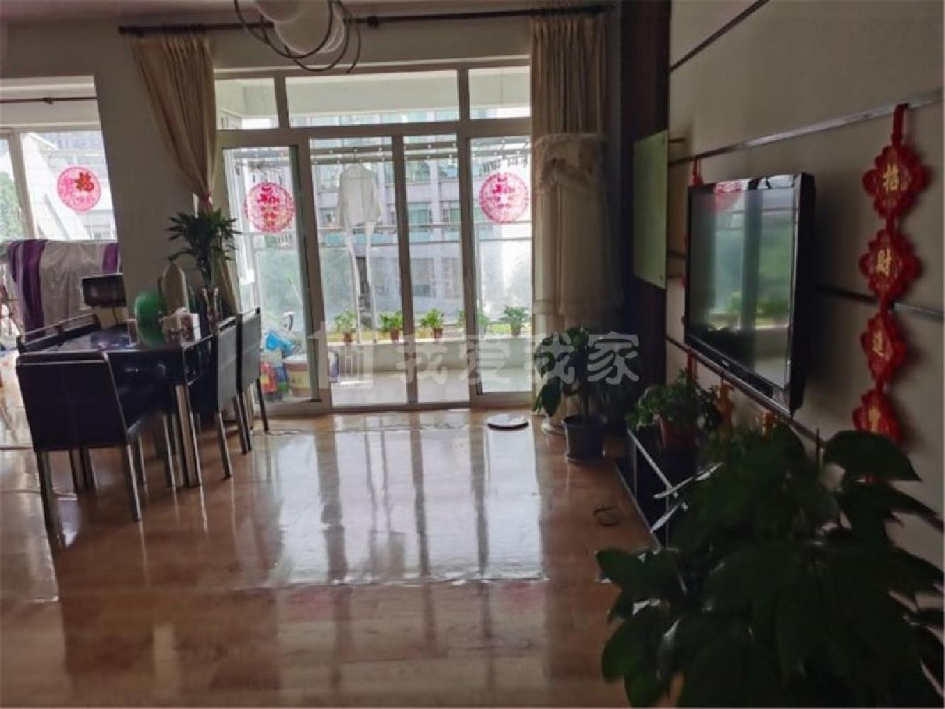 奥林匹克花园 景观房中间楼层 家里干净清爽家电家具全留